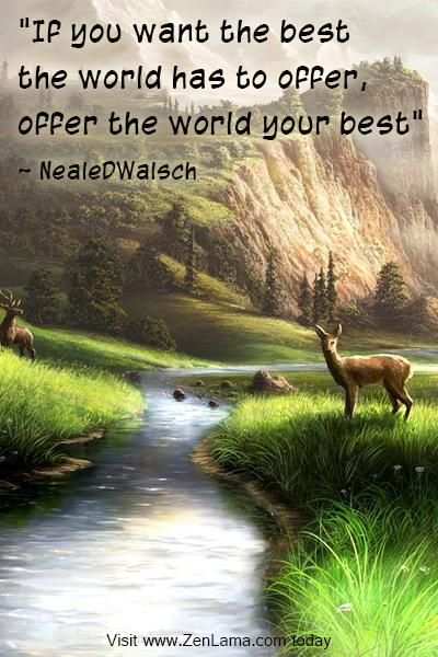 zenlama.com daily inspiration quote