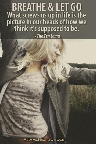 Daily Inspiration Quote via zenlama.com